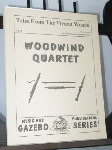 Strauss J - Tales from the Vienna Woods arr Holcombe B